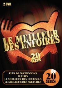 Cover Les Enfoirés - Le meilleur des Enfoirés - 20 ans [DVD]